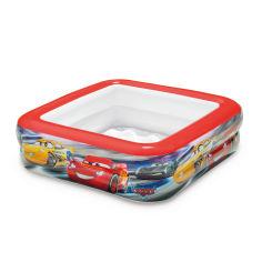 Акция на Бассейн детский Intex Cars, 85x85x23 см от Auchan