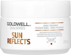 Акция на Маска Goldwell Dualsenses Sun Reflects 60 секунд восстановления волос после пребывания на солнце 200 мл (4021609061663) (206166) от Rozetka