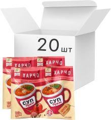 Акция на Упаковка супа Lugo Venko Дуэт Харчо 2 порции по 20 г х 20 шт (1687810000589) от Rozetka