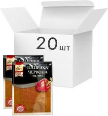 Акция на Упаковка паприки красной Lugo Venko молотой 40 г х 20 шт (2437160000800) от Rozetka