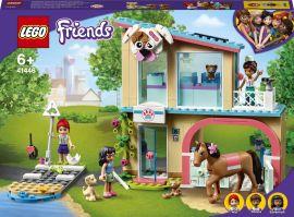 Акция на Конструктор LEGO Friends Ветеринарная клиника Хартлейк-Сити 258 деталей (41446) от Rozetka