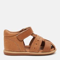 Акция на Сандалии кожаные VUVU KIDS Camel 3616 5 21 13 см Светло-коричневые (8380001361621) от Rozetka