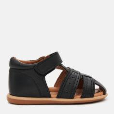 Акция на Сандалии VUVU KIDS Black leather 3741 23 (6.5) 6 14.3 см Черные (8380001374123) от Rozetka