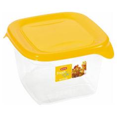 Акция на Емкость для пищевых продуктов Fresh & Go Curver 00560  цвет прозрачный+оранжевый от Podushka