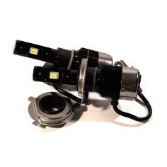 Акция на LED лампы H4 40W 12V 5700K. Светодиодные авто лампы лэд FocusV с активным охлаждением. от Allo UA