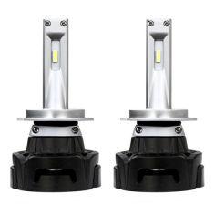 Акция на Комплект LED ламп ALed R H7 6000K 4000lm с вентилятором (для рефлекторной оптики) от Allo UA