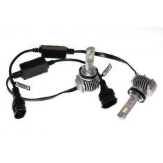 Акция на LED лампы H11 40W 12-24V 6000K 5600Lm. Светодиодные авто лампы с обманками! QLine Hight V (Корея диоды TNX) от Allo UA