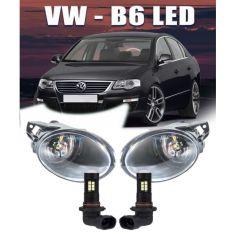 Акция на LED противотуманки Volkswagen Passat B6. Противотуманные Фары в бампер Пассат б6 с лэд лампами. от Allo UA