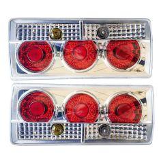 Акция на Задние фары на ВАЗ 2105 - 2107  Три круга DIABLO светлые! стопы на ваз Цена за комплект! от Allo UA