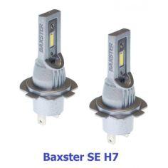 Акция на LED лампы H7 12-24V 6000K 2600lm BAXSTER SE (Корея диоды Lattice) По размеру заводских от Allo UA