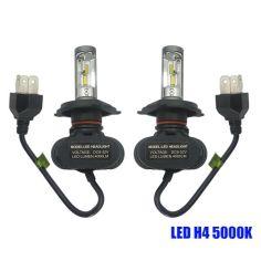 Акция на Светодиодные лампы Н-4. LED лампы H4 6000K 4000Lm. 12-24V \ Seoul Y19 CSP от Allo UA