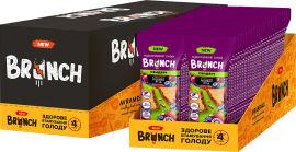 Акция на Упаковка мультизлаковых снеков Brunch сэндвич с кусочками лесных ягод 56 г х 28 шт (4823105807628) от Rozetka