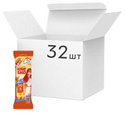 Акция на Упаковка хрустящих трубочек АВК Kresko Сгущенное молоко 40 г х 32 шт (4823105806454) от Rozetka