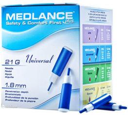 Акция на Ланцет MEDLANCE PLUS Universal 200 Blue (5907506237112) от Rozetka
