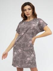 Акция на Ночная рубашка Roksana 1225 XXL Кофейная (4821225120356) от Rozetka