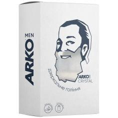 Акция на Подарочный набор Arko Men Crystal Пена для бритья+Гель для душа 2в1, 200/260 мл от Auchan