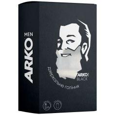 Акция на Подарочный набор Arko Men Black Гель для бритья+Гель для душа 2в1, 200/260 мл от Auchan