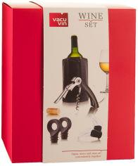 Акция на Набор подарочный Vacu Vin Wine Set Starter (69000606) от Rozetka