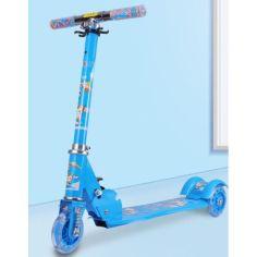 Акция на Самокат Scooter 3 колеса Blue (805) от Allo UA