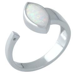 Акция на Кольцо из серебра с опалом, размер 16.5 (1665270) от Allo UA