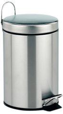 Акция на Ведро для мусора KELA Janos 5 л (20879) матовая нержавеющая сталь от Rozetka