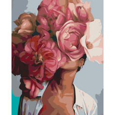 Акция на Набор Картина по номерам Цветущая красота Santi 40*50 см 953855 от Podushka