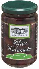 Акция на Оливки с косточкой Casa Rinaldi Каламата 300 г (8006165390552) от Rozetka