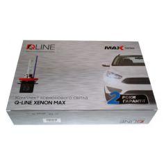 Акция на Комплект биксенона QLine Max Light Н4 H/L 4300K от Allo UA