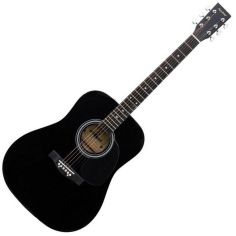 Акция на Акустическая гитара Maxtone WGC4011 (BK) от Y.UA