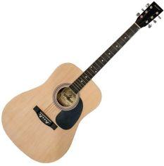 Акция на Акустическая гитара Maxtone WGC4010 (NAT) от Stylus
