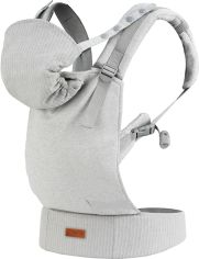 Акция на Рюкзак-кенгуру Momi Collete Grey Linen (NOSI00003) (5900495882417) от Rozetka