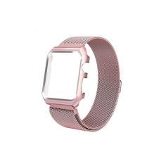 Акция на Ремешок для часов c накладкой Apple Watch 38/40mm Melanise Rose Pink от Allo UA