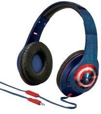 Акция на iHome eKids MARVEL Avengers Civil War Captain America Mic (VI-M40CW.UXV6) от Repka