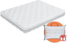 Акция на Ортопедический матрас Smart Mattresses Soft Cocos - 120х190 + подушка Solo 50x70 (ROZ6400068612) от Rozetka