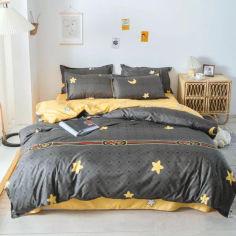 Акция на Комплект постельного белья MirSon Бязь 17-0541 Gloria 200х220 (2200003802764) от Rozetka