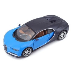 Акция на Автомодель Maisto Bugatti Chiron Blue/Black 1:24 31514metblue/black ТМ: Maisto от Antoshka