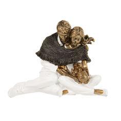 Акция на Фигурка декоративная 15,5см Теплые объятия Lefard 192-156 от Podushka