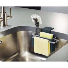 Акция на Органайзер для кухни подвесной Joseph Sink Aid кухонный органайзер для раковины для моющих средств DF-1 от Allo UA