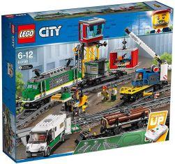 Акция на Конструктор Lego City Грузовой поезд (60198) от Stylus