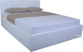 Акция на Двуспальная кровать Eagle Laguna Lift 160 x 200 White (E2288) от Rozetka