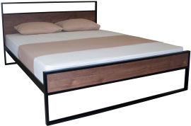 Акция на Двуспальная кровать Eagle Amelia 160 x 200 Black (Е2394) от Rozetka