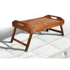 Акция на Столик для завтрака  массив ольха столешница деревянная от Allo UA