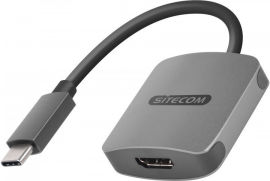 Акция на Sitecom Adapter USB-C to Hdmi Power Delivery Space Grey (CN-375) от Stylus