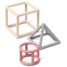 Акция на Прорезыватель для зубов BabyOno учебный Geometric (514/02) от Allo UA