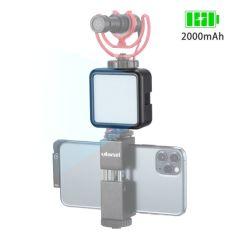"""Акция на Накамерный свет Ulanzi VL49 LED для профессиональной видеосъемки холодный башмак с резьбой 1/4"""" мощность 6 Вт (F_4065-11786) от Allo UA"""