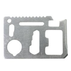 Акция на Мультитул E-SMART 9 в 1 стальной универсальный нож пила гаечный ключ (F_635-1695) от Allo UA