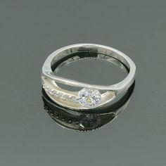 Акция на Кольцо из серебра с фианитами Идеал 18 р от Allo UA