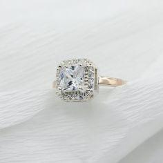 Акция на Серебряное кольцо с золотыми вставками Магический квадрат 18,5 р от Allo UA