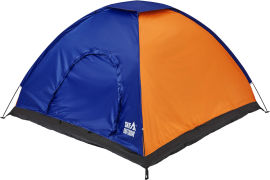 Акция на Палатка SKIF Outdoor Adventure I. 200x200 см Orange-Blue (3890086) от Rozetka
