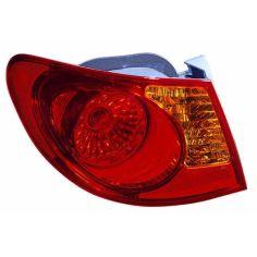 Акция на Hyundai Elantra 2006-2010 Задние (правый) фонари фары задние для HYUNDAI Хендай Elantra 2006-2010 внешний от Allo UA